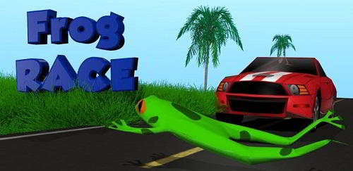 Juego gratis para Android: Frog Race 3D