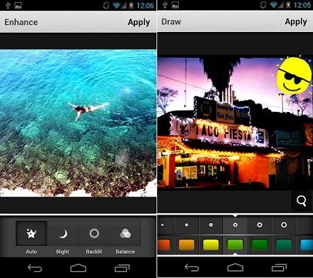 Photo Editor for Aviary para Android