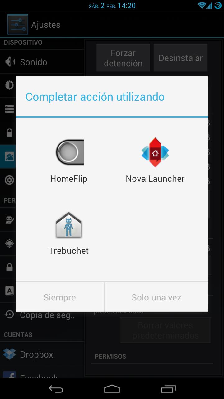 desactivar aplicaciones predefinidas en Android