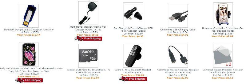 Accesorios para celular a bajo precio