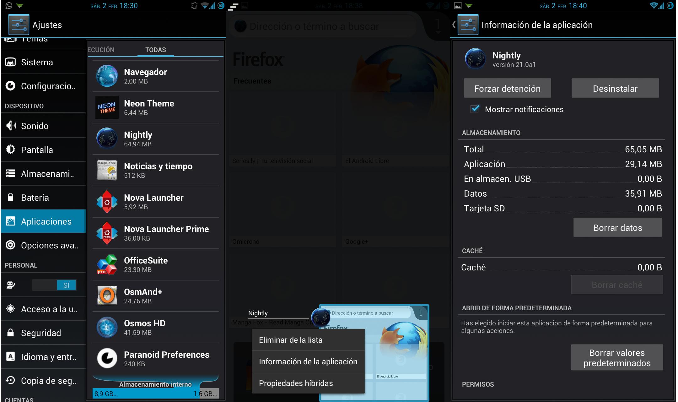 Desactivar Aplicaciones Predefinidas en Android.