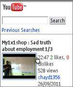 descargar videos de YouTube con el Opera Mini