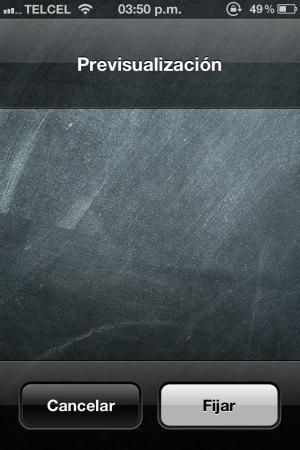 Modificar el fondo de pantalla
