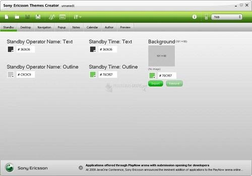 Sony Ericsson Themes Creador.