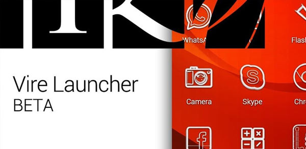 vire launcher android