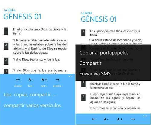 Biblia  para Windows Phone