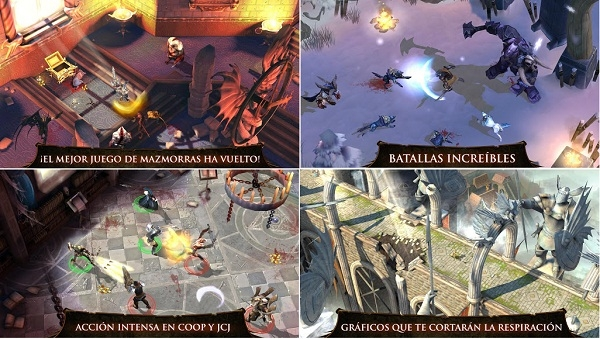 Dungeon Hunter 4 para Android