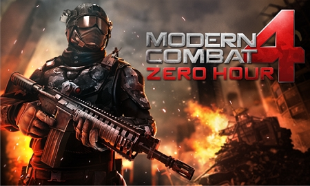 Modern Combat 4 para Windows Phone