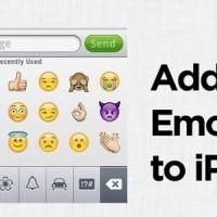 Agregar teclado Emoji