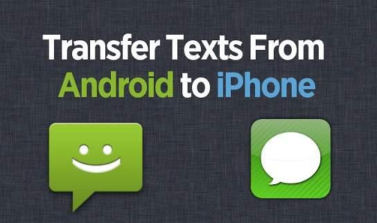 Transferir los SMS
