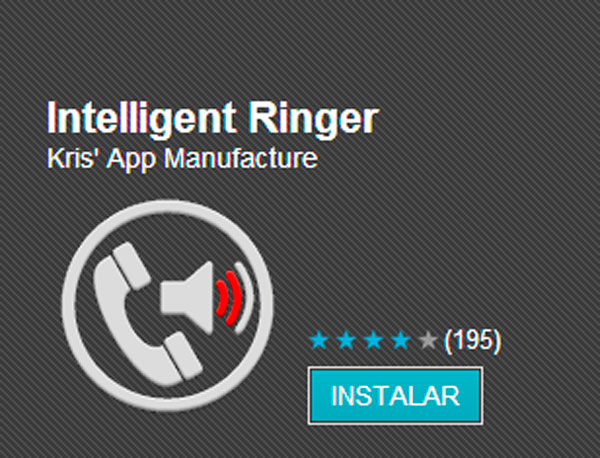 Intelligent ringer para android