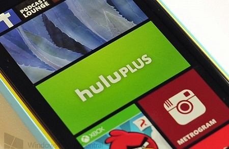 Hulu Plus para Windows Phone 8