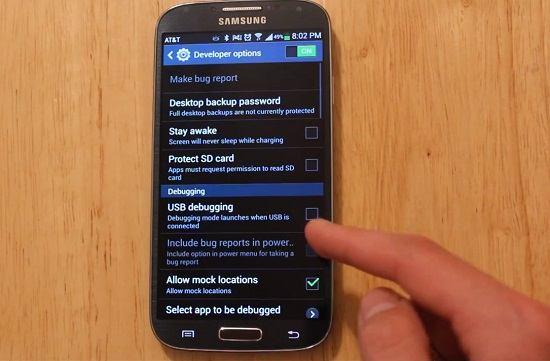 hacer root en el Samsung Galaxy S4