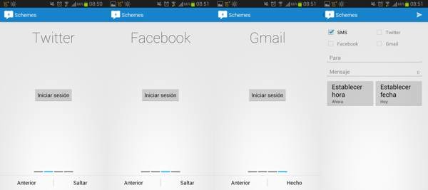 programar mensajes en android