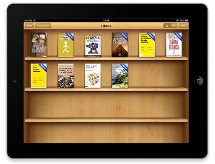 sincronizar iBooks