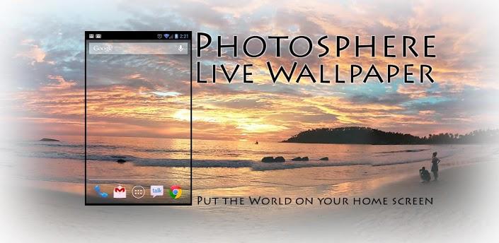 photosphere live wallpaper