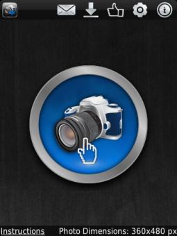 apagar el sonido del obturador de la cámara en el BlackBerry 10