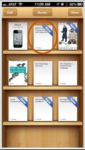 buscar texto dentro del un libro o PDF con iBooks