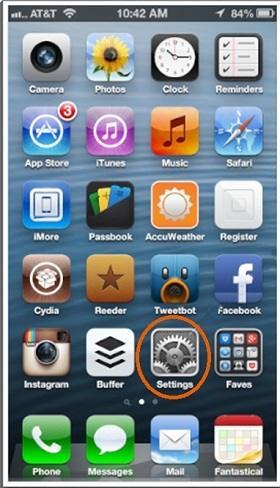 modificar los colores de la pantalla del iPhone