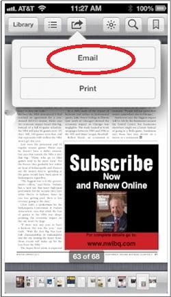 compartir libros y documentos en formato PDF desde iBooks