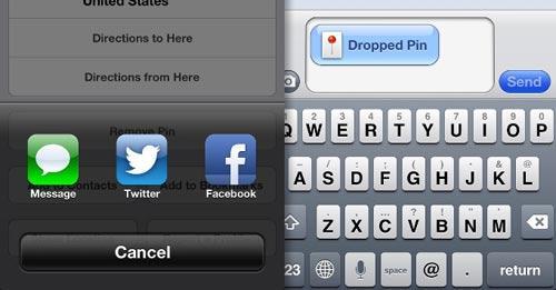 compartir mapas de apple2