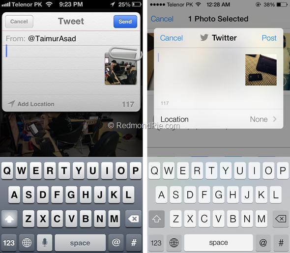 iOS 7 vs iOS 6-10