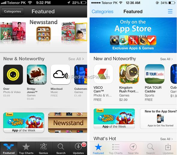 iOS 7 vs iOS 6-13