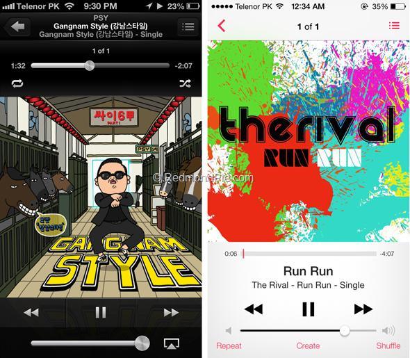 iOS 7 vs iOS 6-16