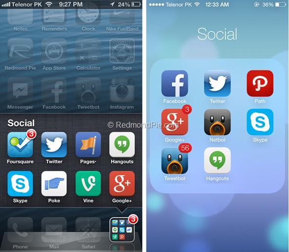 iOS 7 vs iOS 6-3