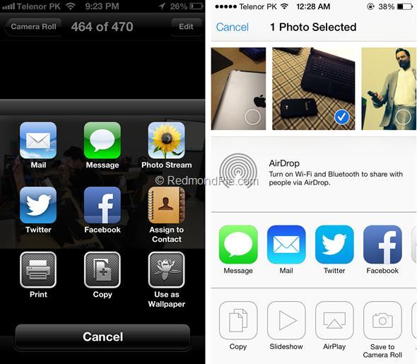 iOS 7 vs iOS 6-9
