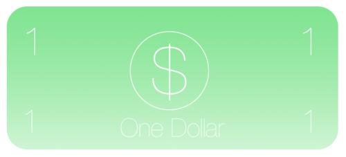 Rediseño de 1 Dolar