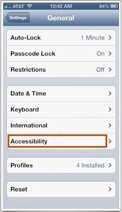 modificar la velocidad del botón Home en el iPhone