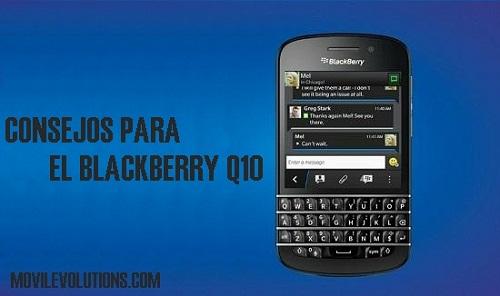 Consejos para BlackBerry Q10