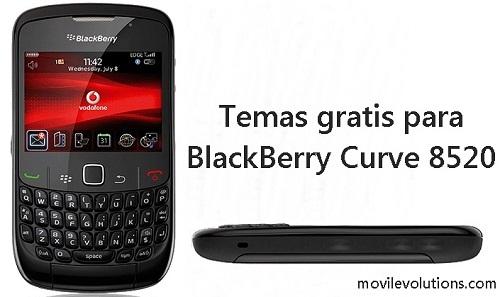 Temas gratis para BlackBerry Curve 8520