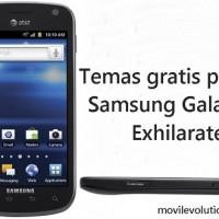 Temas gratis para Samsung Galaxy Exhilarate