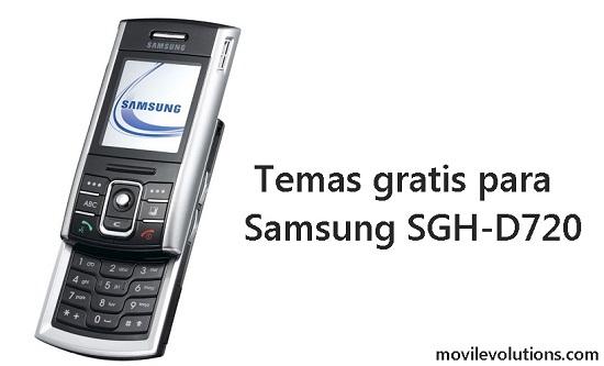 Temas gratis para Samsung SGH-D720
