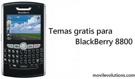 Temas para BlackBerry 8800