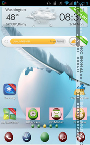 Temas gratis para Samsung Galaxy Core