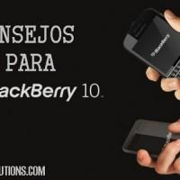 Consejos para BlackBerry 10
