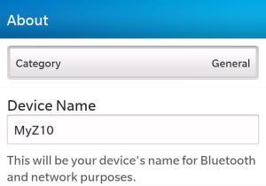 personalizar mi BlackBerry Z10