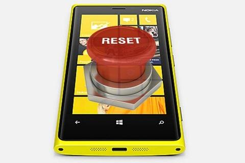 Hard reset en tu Windows Phone