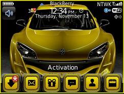 Temas gratis para BlackBerry 8800