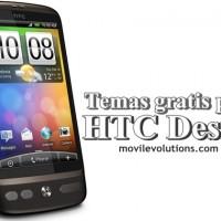 Descarta temas gratis para HTC Desire
