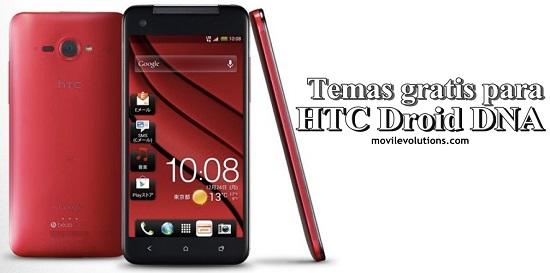 Descarga temas gratis para HTC Droid DNA
