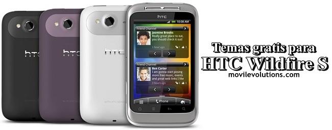 Temas gratis para HTC Wildfire S