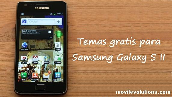Temas gratis para Samsung Galaxy S II