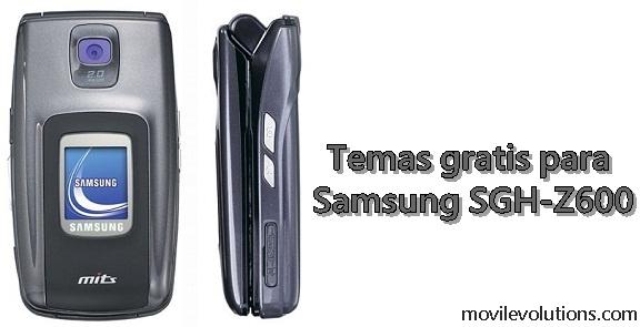 Temas gratis para Samsung SGH-Z600