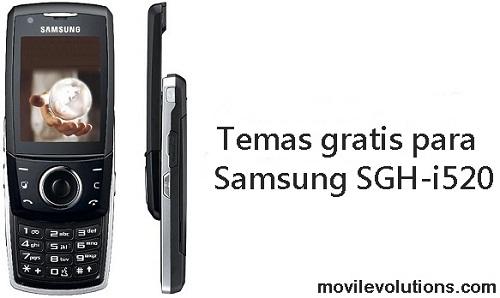 Temas gratis para Samsung SGH-i520