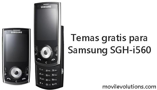 Temas gratis para Samsung SGH-i560