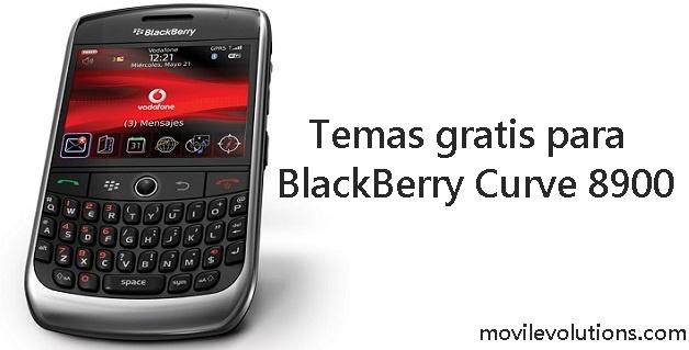Temas para BlackBerry Curve 8900